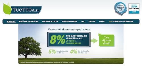 Tuottoa.fi